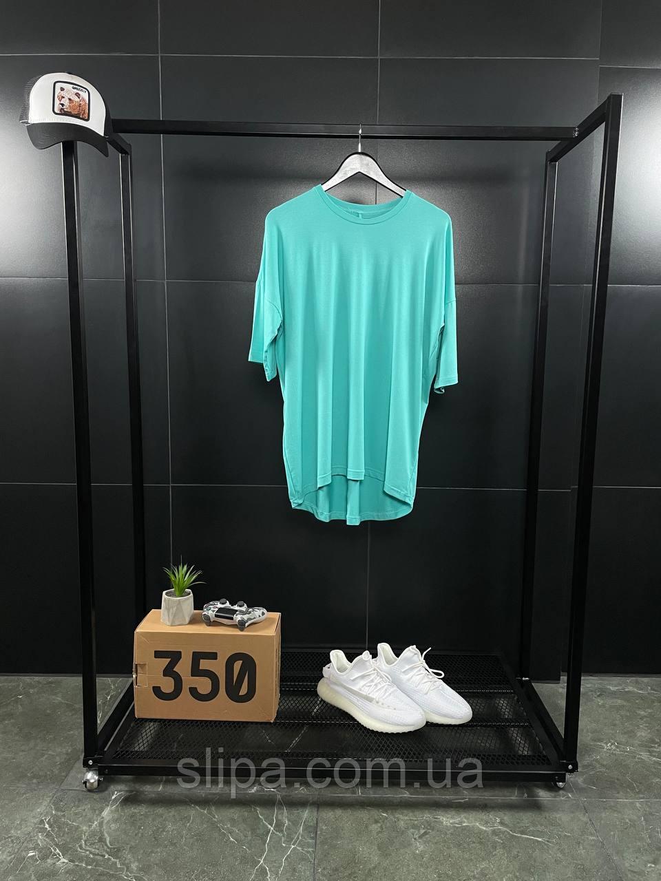 Помаранчева оверсайз футболка ASOS   бавовна + еластан