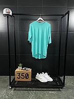 Помаранчева оверсайз футболка ASOS   бавовна + еластан, фото 1