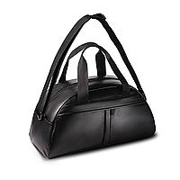 Чорна спортивна сумка | PU шкіра