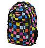 Удобный городской молодежный рюкзак 28 л. Power In Eavas 6088 black черный