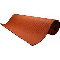 Коврик для йоги и фитнеса 173х61 см Power System Синий Оранжевый