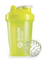 Шейкер для спортивного питания Blender Bottle CLASSIC 20oz 600ml Зеленый