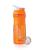 Шейкер для спортивного питания Blender Bottle SportMixer 28oz Оранжевый