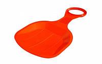 Ледянка для катания с горки детская Plastkon BINGO Красный