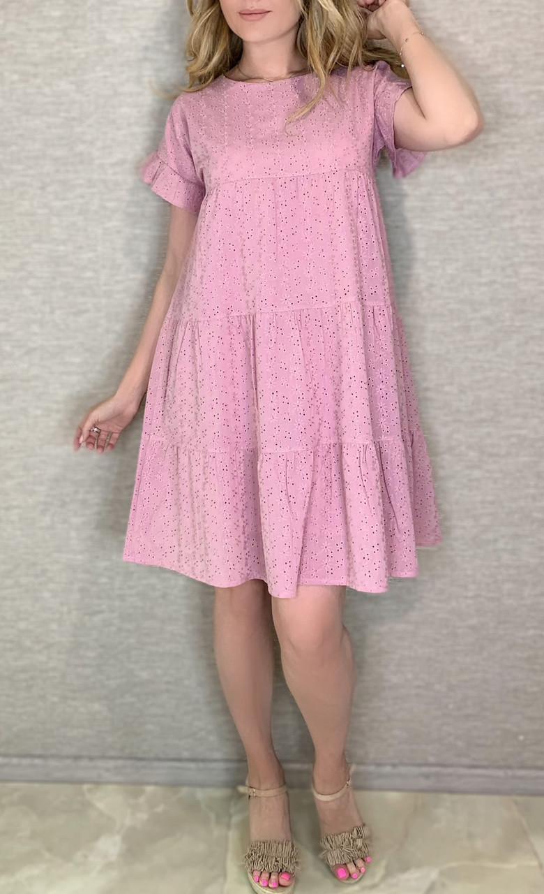 Сукня жіноча з прошви завдовжки до середини стегна