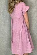 Сукня жіноча з прошви завдовжки до середини стегна, фото 2