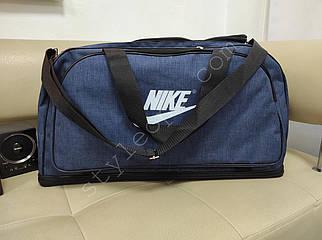 Мужская объемная сумка-трансформер из текстиля 57*30*29 см