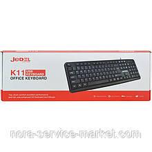 Клавиатура USB JEDEL K11 Black