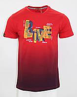 Футболка MAXWAY з написом Born Live червона M (8732 red)
