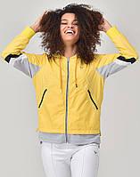 Олимпийка Bilcee желтая с дышащей подкладкой и капюшоном S (TB20WL10S8914 yellow)