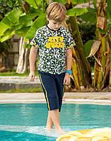 Комплект Elsima з камуфляжною футболкою та бриджами 86 см (656v2)
