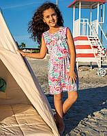 Платье Elsima трикотажное с рюшами 98 см  (725v3)