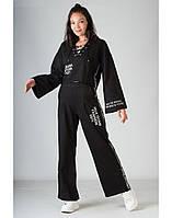 Спортивный костюм SONESTA в стиле кимоно черный S (DS3017 black)
