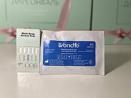 Тест на 5 наркотиков WONDFO: амфетамин, метамфетамин, марихуана, морфин, кокаин