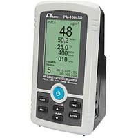 Монітор-логер якості повітря в приміщеннях (PM2.5, CO2, %RH, Temp., Barometer) LUTRON PM-1064SD