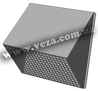 Решетка для вентиляции воздухозаборная Канал-РВК-150