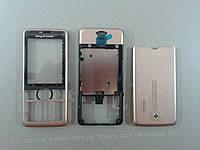 Корпус к мобильному телефону Sony Ericsson G700 gold full