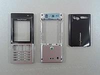 Корпус к мобильному телефону Sony Ericsson T700 black-silver full