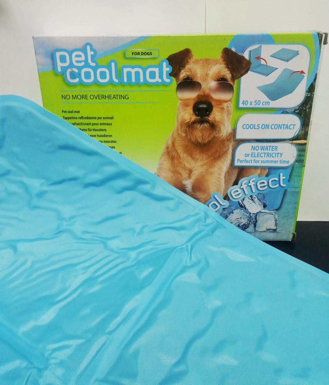 Охолоджуючий килимок для собак PET COOL MAT ferplast 40х50 см