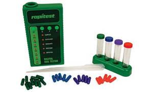 Набір для цифрового аналізу тестів NPK і pH ґрунту Rapitest 1605 (pH, NPK, 25 шт.)