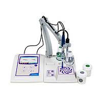 Лабораторний pH-метр/кондуктометр з мішалкою XS PC 8+ DHS kit STIRRER (з електродом XS Polymer, коміркою