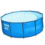 Каркасний басейн Steel Pro Max 15427 (366 x 133 см), з картриджних фільтрів та сходами