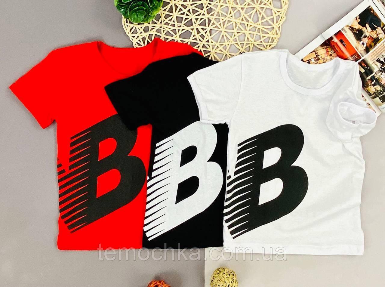 Стильна футболка на літо для хлопчика або дівчинки Нью Беланс