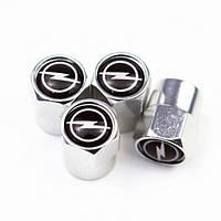 Захисні ковпачки на ніпель для Opel Alitek Short Silver Опель, 4 шт