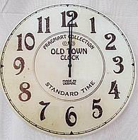 Часы настенные стекло часы-картина из стекла круглые с цифрами стеклянные винтаж в кабинет офис для кухни кафе