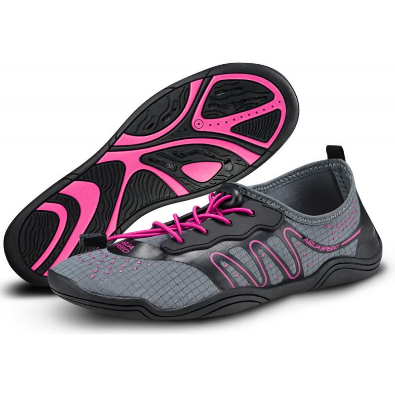 Аквашузы Aqua Speed Kameleo 35 Сіро-рожеві