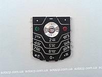 Клавиатура для мобильного телефона Motorola L6, черная, русская