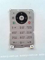 Клавиатура к мобильному телефону Motorola W375 русская цвет-серебро