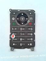 Клавиатура к мобильному телефону Motorola W375 русская цвет-темно-серый