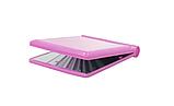 Мини зеркало для макияжа складное Travel Mirror Pink, Карманное зеркало с LED подсветкой на 8 светодиодов, фото 3