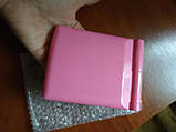 Мини зеркало для макияжа складное Travel Mirror Pink, Карманное зеркало с LED подсветкой на 8 светодиодов, фото 5