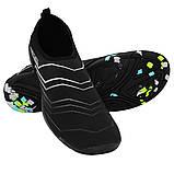 Взуття для пляжу і коралів (аквашузы) SportVida SV-GY0006-R45 Size 45 Black/Grey, фото 4