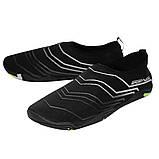 Взуття для пляжу і коралів (аквашузы) SportVida SV-GY0006-R45 Size 45 Black/Grey, фото 5