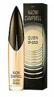 """Женская туалетная вода""""Naomi Campbell Queen of Gold"""" обьем 15 мл"""