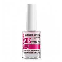 Сыворотка-укрепитель для ногтей LUXVISAGE SOS system 9 в 1