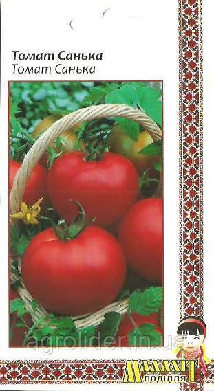 Семена томат Санька 0.1г Красный (Малахiт Подiлля)