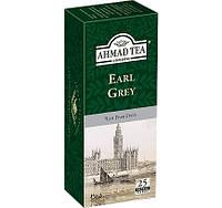 Чай Черный Граф Грей Earl Grey  AHMAD 25 пакетиков