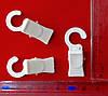 Прищіпка для карниза пластикова біла ( 2 види), фото 4