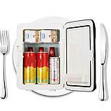 Холодильник для автомобіля від прикурювача 12 В і від мережі ( автохолодильник 10 л.), фото 5