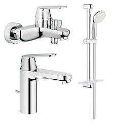Набор смесителей для ванной M-size Grohe Eurosmart Cosmopolitan 126112M