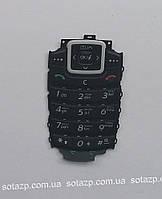 Клавиатура для мобильного телефона Samsung  X510 чёрная, русская,   High copy