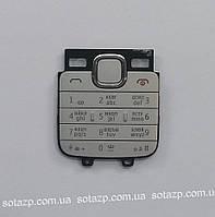 Клавиатура для мобильного телефона Nokia C2-00  русская, High Copy белая