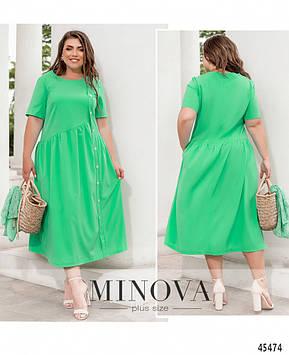 Платье №8-311-Ментол Ментол/50-52