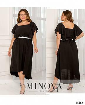 Платье №1034А-черный черный/52-54