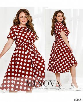Платье №1040Б-кирпичный кирпичный/50-52