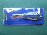 Нержавеющий такелажный нож с пластиковыми накладками, фото 6